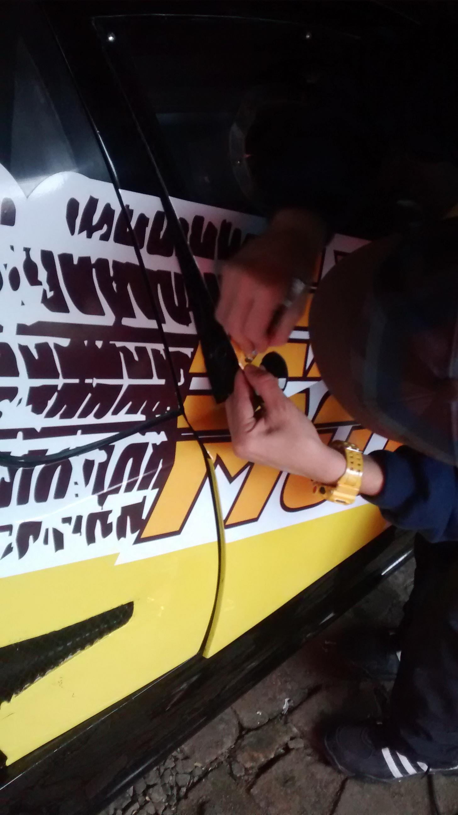 Adesivagem Montana Stock Car v8