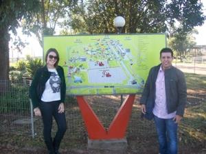 Fotos visita região metropilitana
