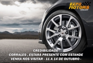 Eventos confirmados e estandes